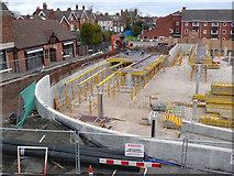 SP2871 : Construction of new supermarket car park, Kenilworth by Nigel Mykura