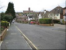 SU9849 : Guildford: Scillonian Road by Nigel Cox