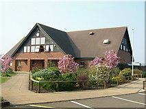 SU6154 : Weybrook Park Golf Club - Clubhouse by Alan Swain