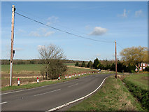TF9203 : View northeast along Dereham Road by Evelyn Simak