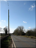 TF9203 : View SW along Dereham Road (A1075) by Evelyn Simak