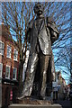 SO8554 : The Elgar Statue, Worcester by Philip Halling