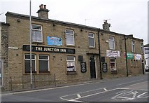 SE2223 : The Junction Inn - Halifax Road by Betty Longbottom