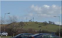 SK8939 : Mast & Pylon, Great Gonerby by Bill Johnson