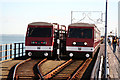 TQ8884 : Southend-on-Sea: Southend Pier looking South Southeast 2005 by Trevor Durritt