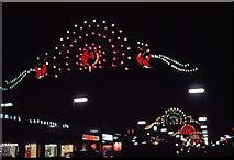 TQ2980 : Christmas Lights in Regent Street, London, taken in 1969 by Christine Matthews
