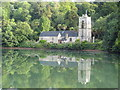 SW8435 : St Just in Roseland church by Rod Allday