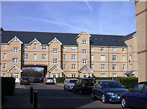TL4658 : Winstanley Court by Keith Edkins