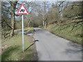 SO7642 : Toad warning sign by Trevor Rickard