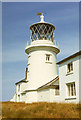 SS1495 : Caldey Island Lighthouse, Pembrokeshire by Christine Matthews