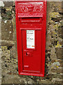 SX1497 : Victorian wall postbox at St Gennys by David Hawgood
