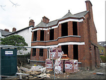 J3271 : House under redevelopment, Cranmore Avenue, Belfast by Rossographer
