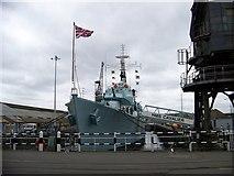 TQ7569 : HMS Cavalier - destroyer at Chatham Dockyard by Elliott Simpson