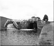SD8639 : Barrowford Bottom Lock No 51, Leeds and Liverpool Canal by Dr Neil Clifton