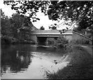 SD8538 : Reedyford Bridge 141C, Leeds and Liverpool Canal by Dr Neil Clifton