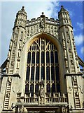 ST7564 : Bath Abbey, west elevation by Brian Robert Marshall