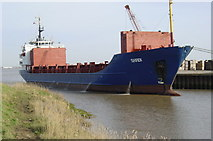 TA0623 : Skadi at Barrow Haven Wharf by William Foster