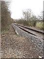 SU8787 : Marlow to Maidenhead single track railway by David Hawgood