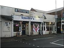 SZ6599 : Smiffys sports bar in Goldsmith Avenue by Basher Eyre