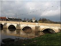 SE4843 : Tadcaster Bridge by Gordon Hatton
