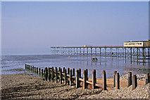 SZ9398 : Pier, Bognor Regis, West Sussex by Christine Matthews