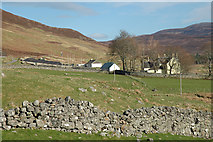 NH4591 : Forest Farm Croick by Peter Gamble