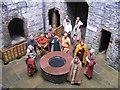 SC2667 : Vikings at Castle Rushen by M J Richardson