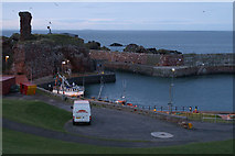 NT6779 : Dunbar harbour and castle by Mike Pennington