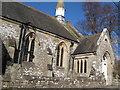 NY9538 : The Cuthbert Bainbridge Memorial Wesleyan Chapel, 1891 - close-up by Mike Quinn