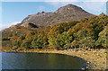 NH0165 : Loch Maree shoreline, in Autumn by Nigel Brown