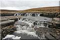 NY7533 : Waterfall on Troutbeck by Helen Wilkinson