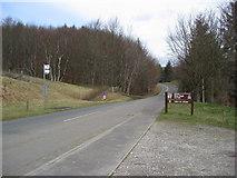 SK1887 : Hurst Clough Car Park - View North by Alan Heardman