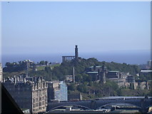 NT2674 : Calton Hill viewed from Edinburgh Castle by Keith Edkins