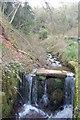 SO5204 : Man-made waterfall at Llandogo by Roger Davies