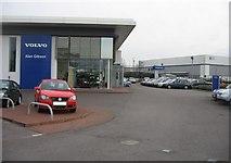 SU6252 : Volvo dealer - Brunel Road by Given Up