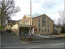 SE1614 : The Methodist Church, Westgate, Almondbury by Humphrey Bolton