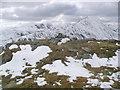 NN6518 : Meall na Fearna summit cairn by Graham Ellis