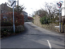 NY0830 : Brigham: junction of Hotchberry Road with High Brigham by Phil Davies