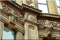 J3374 : Former Anderson & McAuley's, Belfast (detail) (3) by Albert Bridge