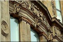 J3374 : Former Anderson & McAuley's, Belfast (detail) (4) by Albert Bridge