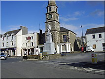 NT4728 : The Square, Selkirk, Scottish Borders by James Denham