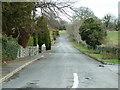 N0946 : Glasson Village Sweep Road by Pat Byrne