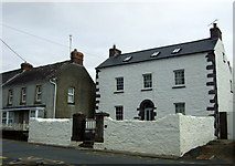 SM7525 : Prospect House, Stryd Non/Nun Street by ceridwen