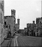 SH4762 : Caernarfon Castle, Gwynedd, taken 1965 by Christine Matthews