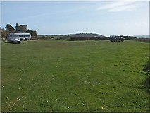SW8332 : St. Mawes Castle car park by Fred James