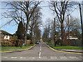 SP8002 : Princes Risborough: Manor Park Road by Nigel Cox