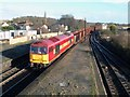 TA0509 : Iron Ore for Scunthorpe passes Barnetby Station by roger geach