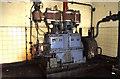 NZ3946 : Steam engine, Hawthorn Coking Works by Chris Allen