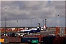 NZ1871 : Newcastle International Airport by John Sparshatt