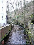 SE1408 : The River Ribble, Holmfirth (Wooldale / Cartworth) by Humphrey Bolton
